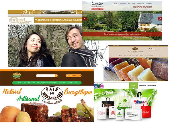Création de site internet et e-commerce en Auvergne
